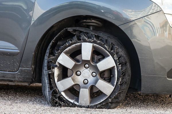 What To Do If You Have a Tire Blowout